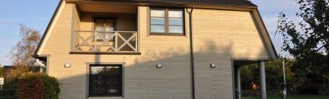 Fassaad eramutele ja korterelamutele, puitfassaadi paigaldus