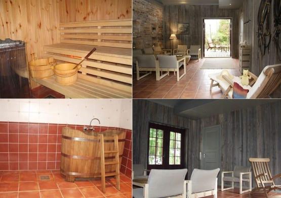 sauna ja eesruumi ehitus